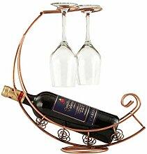 Weinregal Metall Weinflasche Aufbewahrungshalter