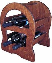 Weinregal Mini Keller Fass Flaschenhalter aus