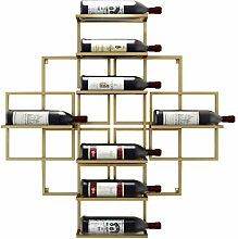 Weinregal Modernes minimalistisches an der Wand