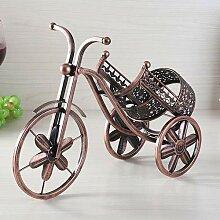 Weinregal Nordischen Stil Vintage 3D Dreirad