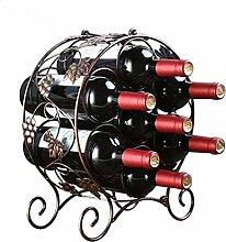 Weinregal Pastoral-Weinregal aus Eisen im