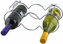 Weinregal, stapelbar, Weinflaschenhalter für