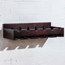 Weinregal, Vintage, europäisches Massivholz, für