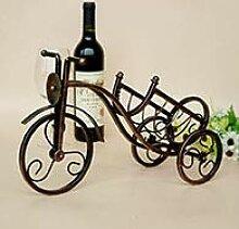 Weinregal Vintage Metall Fahrrad Modell Whisky