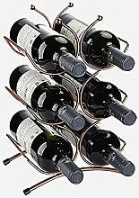 Weinregal, Weinflasche Und Weinflaschenregal,