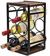 Weinregal Weinflaschenregal,Haushalt Personality