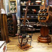 Weinregal Weinkabinett Cello-förmige Modellierung