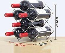 Weinregal - Weinregal Metall Für Die Küche -