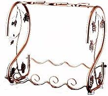 Weinregal Weinregal mit Glashalter Tischplatte