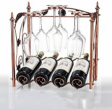 Weinregal YANFEI Kreative Ornamente Wein
