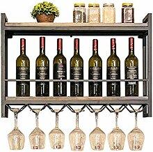 Weinregal zur Wandmontage für Weinflaschen und