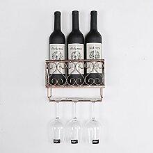 Weinregale Eisen Wein