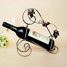 Weinregale Gusseisen,27*11*29CM Wein Zubehör