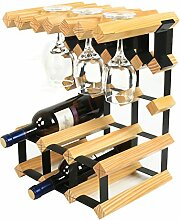 Weinregale Holz Weinregal Ornamente Europäische