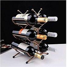 Weinregale, Modernes Weinregal für 6 Flaschen,