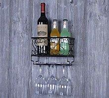 Weinregale Wandmontage mit Regalen und