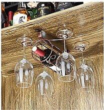 Weinregale Wein Glashalter,Wein Glas Rack, Weinglas Hanger, Stemware Rack,Weinglas Rack Stemware ( Farbe : 2 , größe : 20*23*14cm )