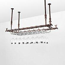 Weinregale Wein-Racks Retro Industrial Wind Bar
