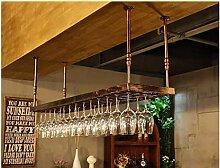 Weinregale Weinglasregal Hängendes Weinregal für