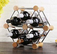 Weinregale Weinregal Dekoration Wein Display Rack
