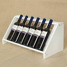 Weinregalhalter 6-Flaschen-Weinregal -