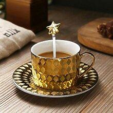 Weinschale Europäisches Keramik-Kaffeetassenset