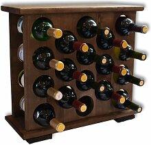 Weinständer Weinregal Holzweinständer