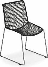 Weishäupl - Slope Stuhl, schwarz