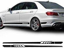 WEISHAN Side-Streifen-Aufkleber for Mercedes Benz