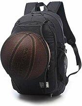 Weishazi Herren Basketballrucksack, Netzstoff,