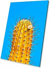 Weiß Kaktus Rosa modernes abstraktes Porträt