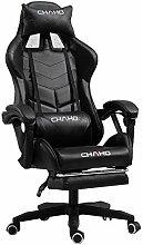 Weiß Komfort Executive Rotary Game Chair PC-Stuhl