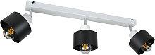 Weiße Deckenstrahler Deckenlampe 3PRST6005WE