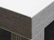 Weiße Folie 2 mm Tischdecke weiß Breite 90 cm, Länge wählbar, Schutzfolie Tischschutz Meterware (90 x 200 cm)
