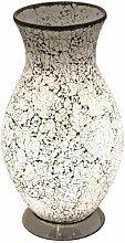 Weiße Mosaik-Glaslampe