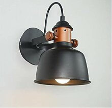 Weiße schwarze moderne LED Wandlampe
