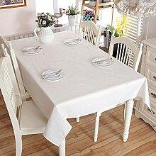 Weiße Spitze Rechteckige Tischdecke Für Buffets,