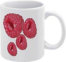 Weiße Tasse aus glattem Porzellan, Kaffeebecher,