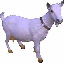 Weiße Ziege, mittel - Tierfiguren - BH065