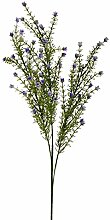 Weißen Dino fv231_ 02.jpg Dekoration Bell Flowers, Acryl, Violett, 15x 18x 61cm, 6Stück