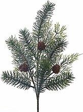 Weißen Dino xhv012_ 01Zypresse mit Pine, PVC, Green, 13x 42x 9.8cm, 24Einheiten