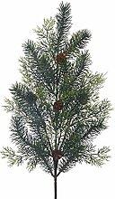 Weißen Dino xhv013_ 01Zypresse mit Pine, PVC, Green, 13x 42x 9.8cm, 12Einheiten