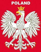Weißer Adler Eagle Magnet-Bilderrahmen