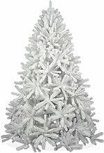 Weißer künstlicher Weihnachtsbaum 210cm in