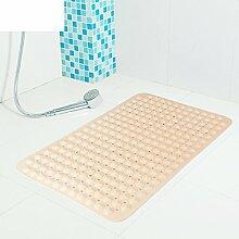 weiwei Badezimmer Non-Slip Mat, Verdickte PVC Kissen, Dusche Badewanne, Fuß-massagematte geschmacklos Umwelt Große Badewanne-E 47cm*77cm