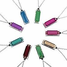 Weiye Mini-Mundharmonika-Halskette - entzückende