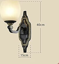 Weiyue Wandlampe- Retro Kupfer Wandleuchte
