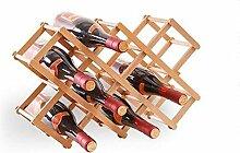 Weiyue Weinregal- Wine Rack Bambus