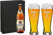 Weizenbierglas Set [Bayern] - selbst Gestalten -
