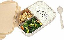 Weizenfaser Lecksicher Lunchbox/Bento Box/Brotdose